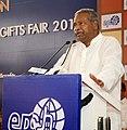 The Union Minister for Textiles, Dr. Kavuru Sambasiva Rao addressing at the inauguration of the Indian Handicrafts & Gifts Fair (Autumn) 2013, at Greater Noida, Uttar Pradesh on October 15, 2013.jpg