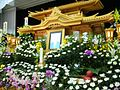 The altar of the Japanese Buddhism-style funeral,saidan,japan.jpg