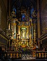The altar of the Lviv Latin cathedral at Christmas time.jpg