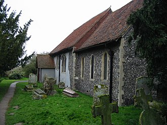 Blean - Image: The church of St Cosmus and St Damian, Blean geograph.org.uk 752048