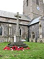 The church of St Remigius - the war memorial - geograph.org.uk - 1746823.jpg