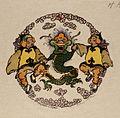 The furious dragon - 1914 - Helen Hyde.jpg