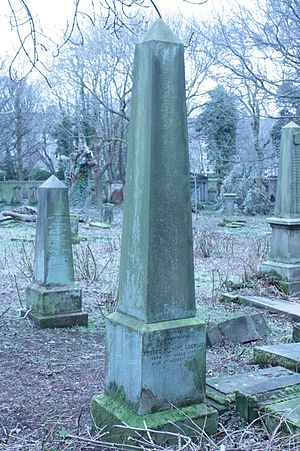 Robert Fleming Gourlay - The grave of Robert Fleming Gourlay, Warriston Cemetery, Edinburgh