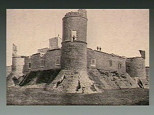 Count of Chinchón - The ruins of the Castle of Chinchon, Spain