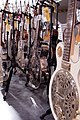 The steel contingent, Ed Roman Guitars, Las Vegas, Nevada.jpg