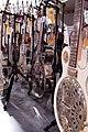 The steel contingent, Ed Roman Guitars, Las Vegas, Nevada.jpg
