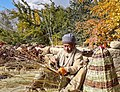 The wooden basket making in North Pakistan Gilgit Baltistan Pakistan.jpg
