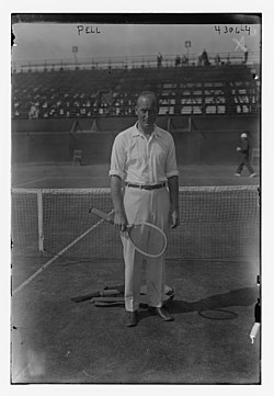 Theodore Roosevelt Pell at the 1917 US Open.jpg