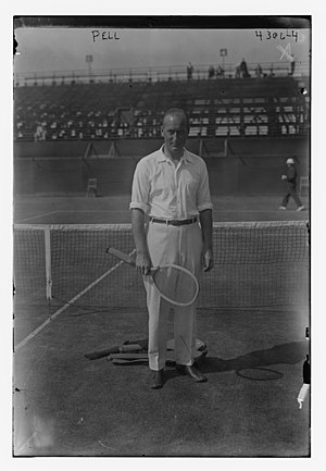 Theodore Pell - Image: Theodore Roosevelt Pell at the 1917 US Open