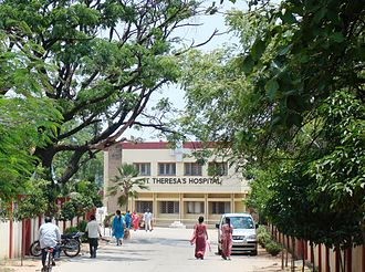 Sanathnagar - St. Theresa's Hospital, one of the earliest hospitals in the area