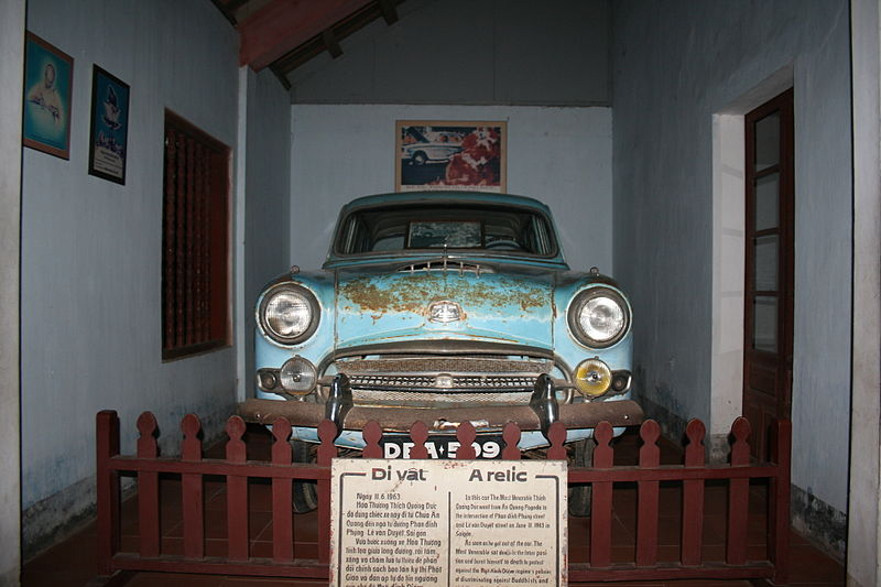 File:ThichQuangDuc Car Parked In Hue.jpg