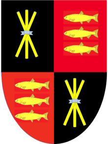 A coat of arms of Thomas Rede ThomasRedeCoatOfArms.png