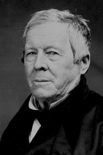 Thomas Garrett - Ambrotype of Thomas Garrett circa 1850