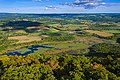 Thompson Pond with landscape from Stissing Mountain fire tower, Pine Plains, NY.jpg