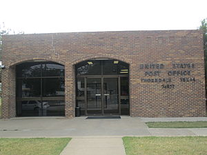Thorndale, Texas - U.S. Post Office in Thorndale