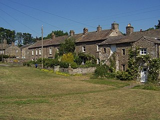 Thornton Rust village in United Kingdom