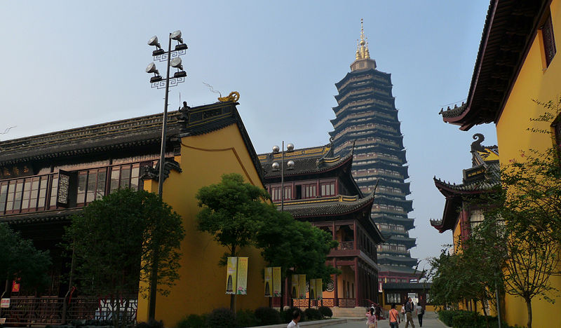 File:Tianning Temple in Changzhou.jpg