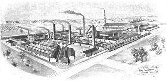 James Van Inwagen - Tiffany Enameled Brick Works, 1904