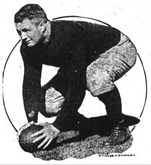 Tim Callahan (American football) - Image: Tim Callahan The Fort Wayne Journal Gazette Fri Oct 10 1919
