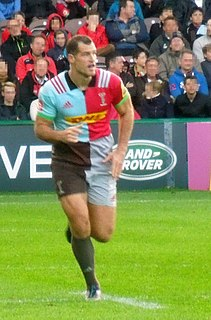 Tim Visser Rugby player