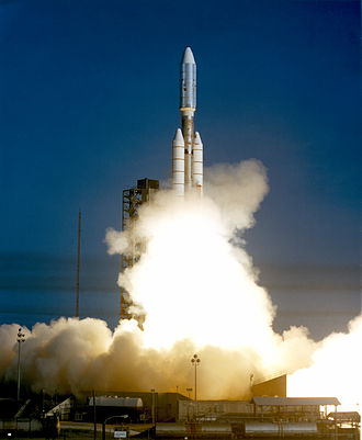 Voyager 1 - Voyager 1 lifted off atop a Titan IIIE.