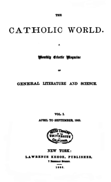 Title page of The Catholic World.png