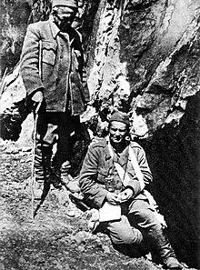 Tito e Ivan Ribar a Sutjeska, 1943