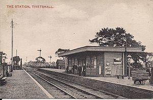 Tivetshall railway station - Image: Tivetshall station