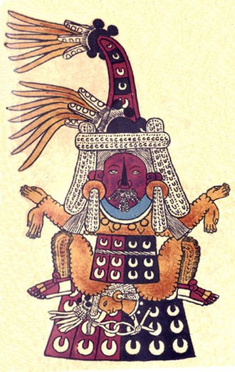 Tlazōlteōtl - Image: Tlazolteotl Borbonicus