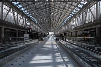 Tokyo Big Sight - The central Galleria