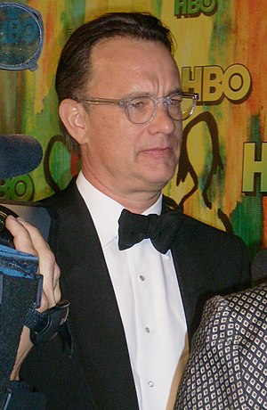 Tom Hanks - Hanks at Post-Emmys Party, September 2008