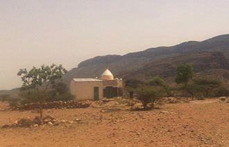 Gadabuursi - Tomb of Sheikh Samarōn(Mahamūd) in Sanaag.