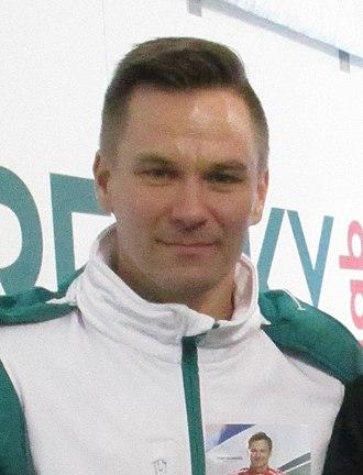 Toni Vilander - Vilander in 2016