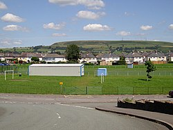 Tonteg Park viewed from Cedar Crescent - geograph.org.uk - 511136.jpg