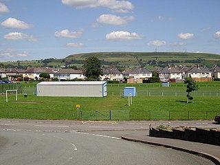 Tonteg village in Wales