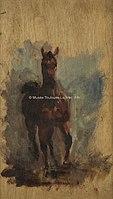 Toulouse-Lautrec - CHEVAL ROUX DE FACE, 1881, MTL.60.jpg