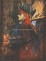 Toulouse-Lautrec - LA LECON DE CHANT, 1882, MTL.88.jpg