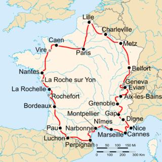 1935 Tour de France cycling race