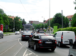 Traffic jam on Thiemstraße (looking south).png