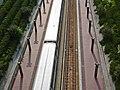 Train at Prince George's Plaza station (50070779307).jpg