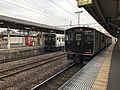 Train for Nagasaki Station at Tosu Station 2.jpg