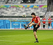 Training Germany national team before the match against Brazil at the FIFA World Cup 2014-07-07 (4)