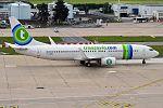 Transavia France, F-GZHJ, Boeing 737-86J (28390137391).jpg