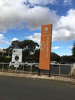 Northam railway station, Western Australia