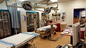 Kings County Hospital Center - Image: Trauma Bay at Kings County Hospital Center