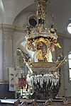 Traunkirchen Klosterkirche Fischerkanzel 4.jpg