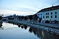 Trebic, Abendstimmung beim Juedisches Viertel (38718595461).jpg