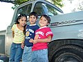 Trio of Children with Ford Truck - Alta Gracia - Argentina.jpg