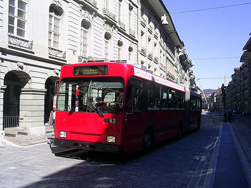 Trolleybus in Bern