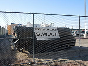 Tucson Police Department - Tucson Police S.W.A.T. vehicle.